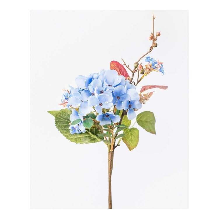 Reliance Hydrangea and Eucalyptus Artificial Flower Arrangement