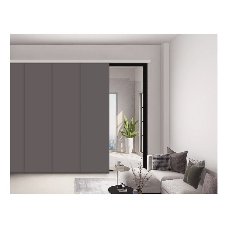 Selections Nickel Panel Blind