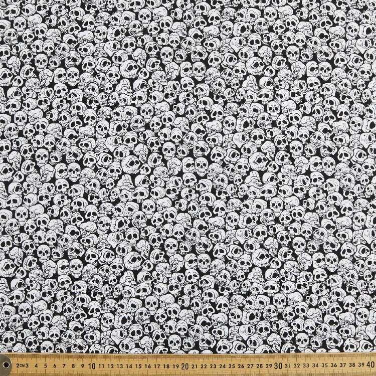 Lots 'O' Skulls Cotton Fabric