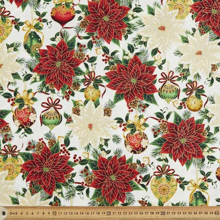 Robert Kaufman Christmas Splendour Printed 112 cm Cotton Fabric