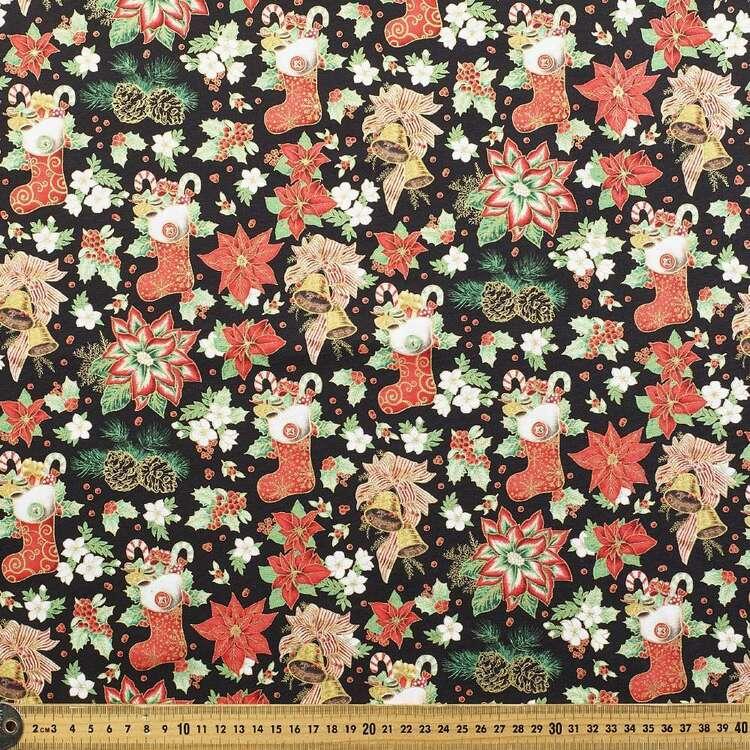 Robert Kaufman Christmas Morning Printed 112 cm Cotton Fabric