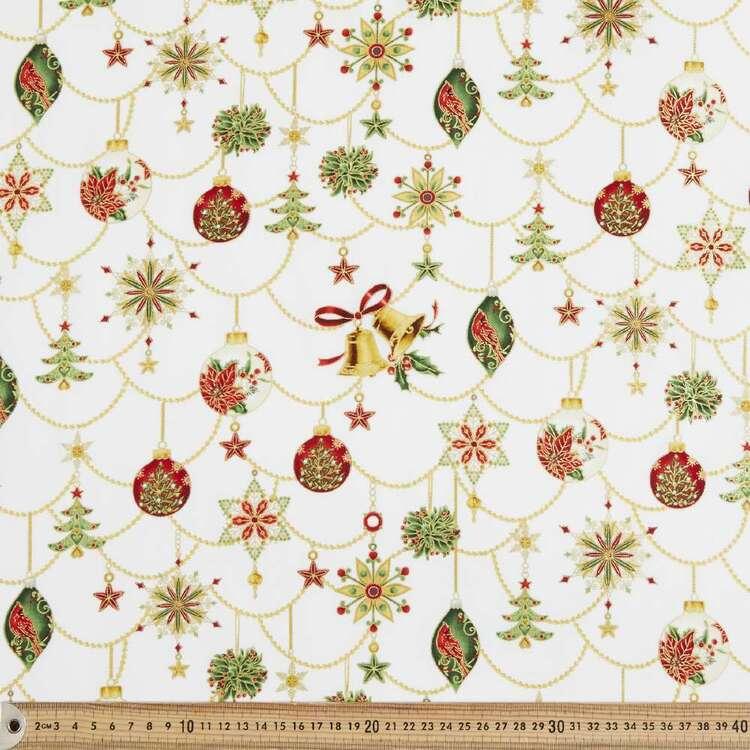 Robert Kaufman Ornamental Holiday Printed 112 cm Cotton Fabric