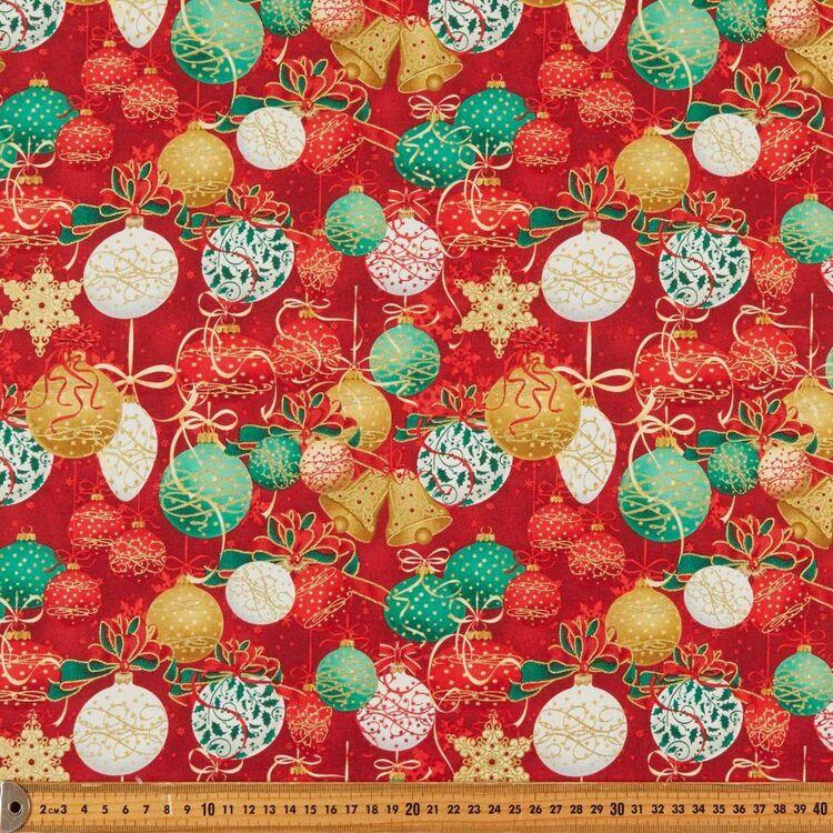 Robert Kaufman Opulent Christmas Printed 112 cm Cotton Fabric