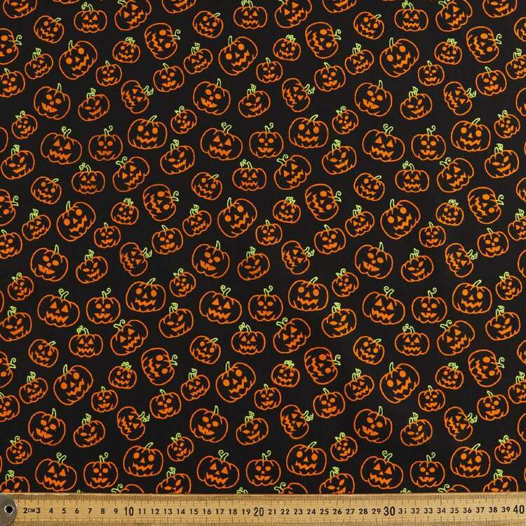 Pumpkins Cotton Fabric