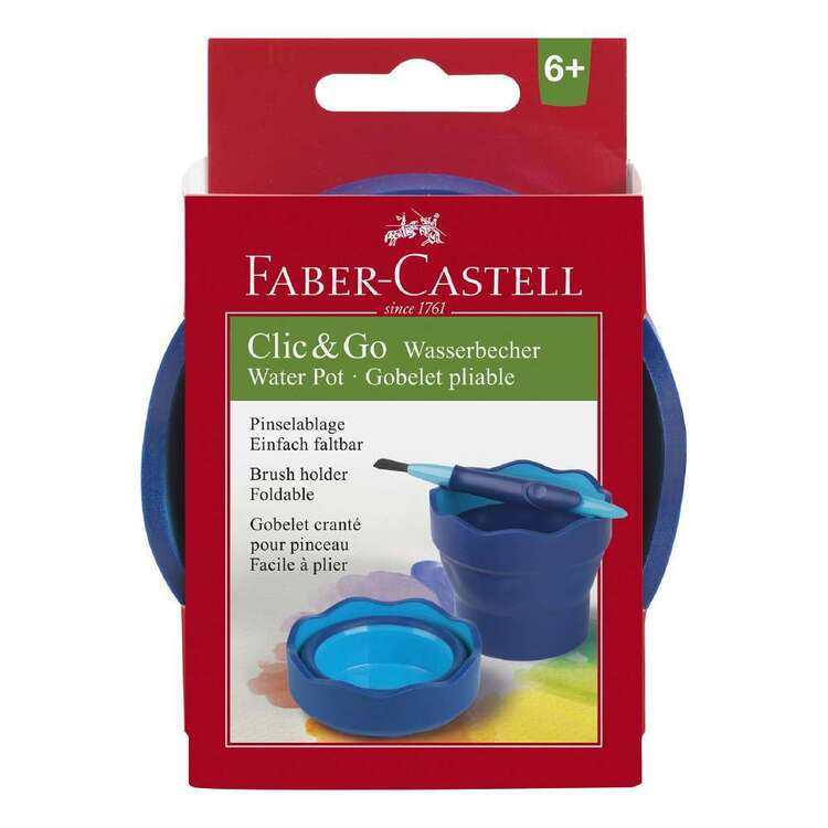 Faber Castell Click & Go Foldable Water Cup