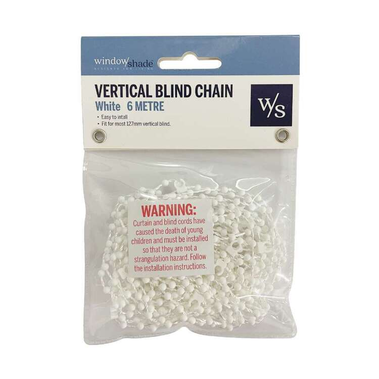 Windowshade 6 Metre Vertical Blind Chain