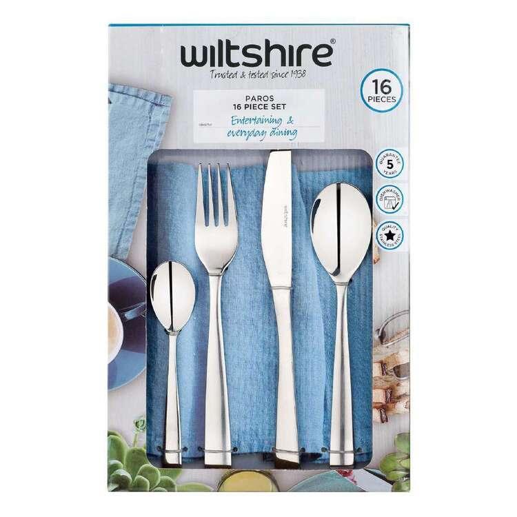 Wiltshire Paros 16 Piece Cutlery Set