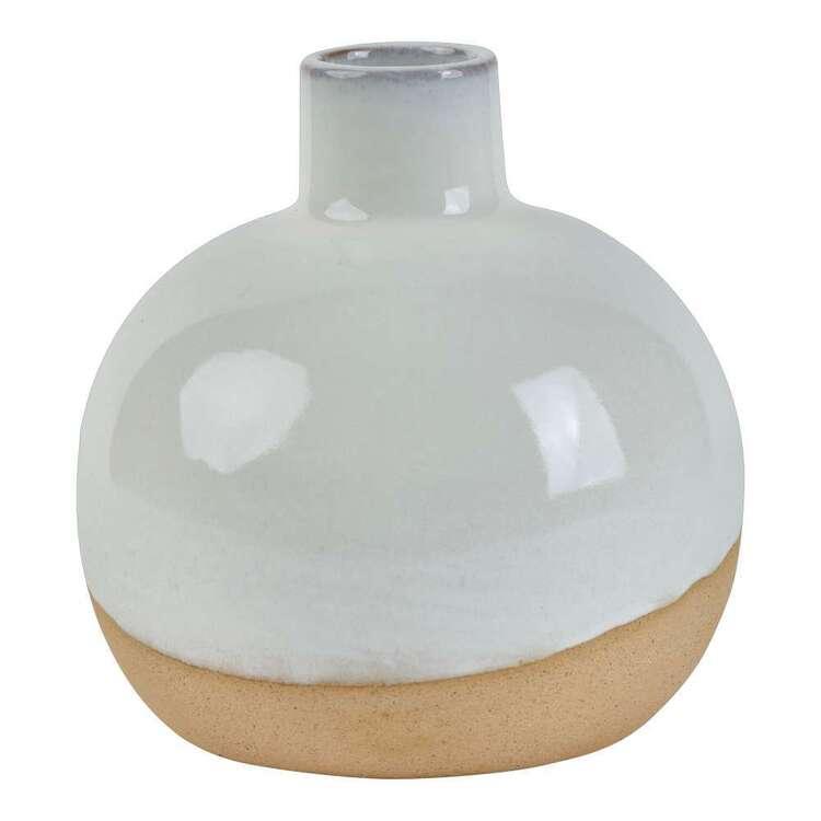 Living Space Round Ceramic Vase