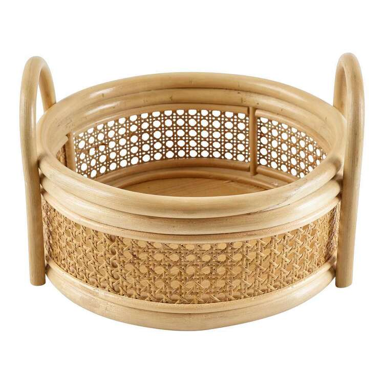 Living Space Rattan Tray