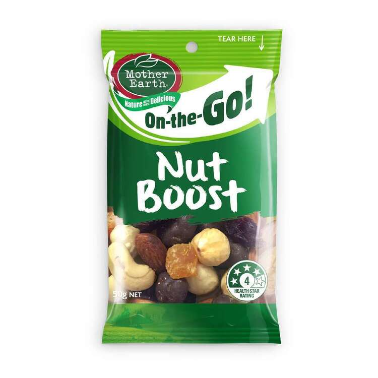 Mother Earth On The Go Nut Boost