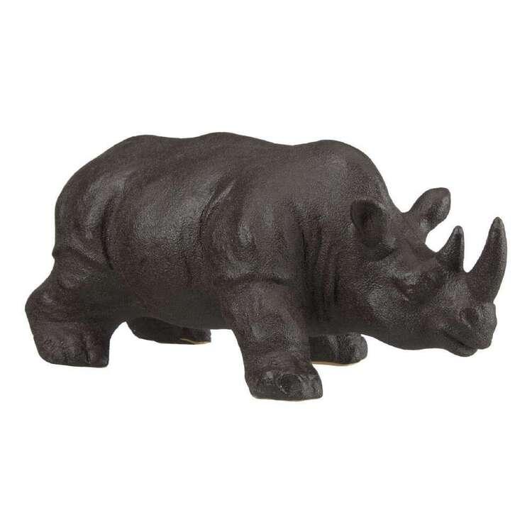 Bouclair Native Culture Rhino Ornament