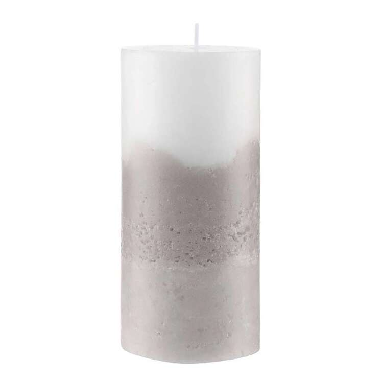 Bouclair Native Culture 15 cm Two Tone Candle