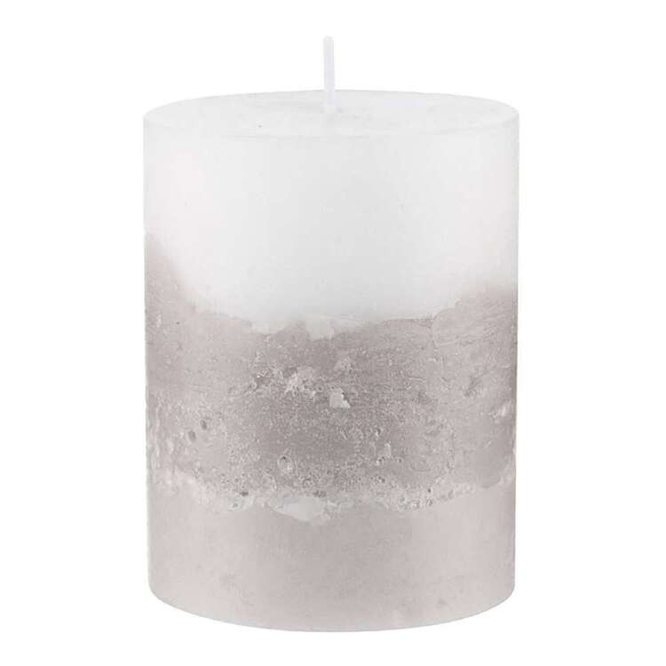 Bouclair Native Culture 9 cm Two Tone Candle