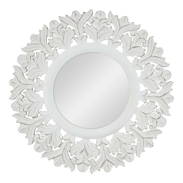 Living Space Etched Mirror