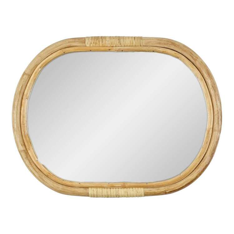 Living Space Bamboo Mirror