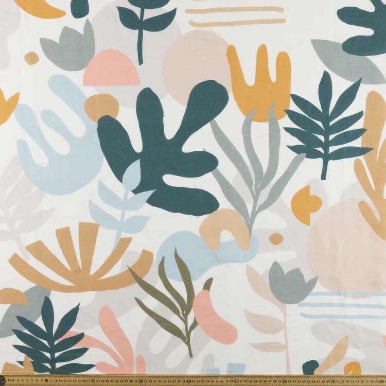 Malani Digital Printed 112 cm Cotton Linen Fabric