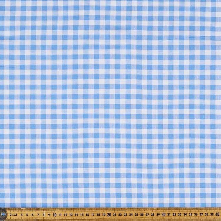 Yarn Dyed Gingham 145 cm Cotton Fabric