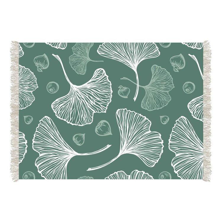 Ombre Home Country Living Botanic Cotton Rug