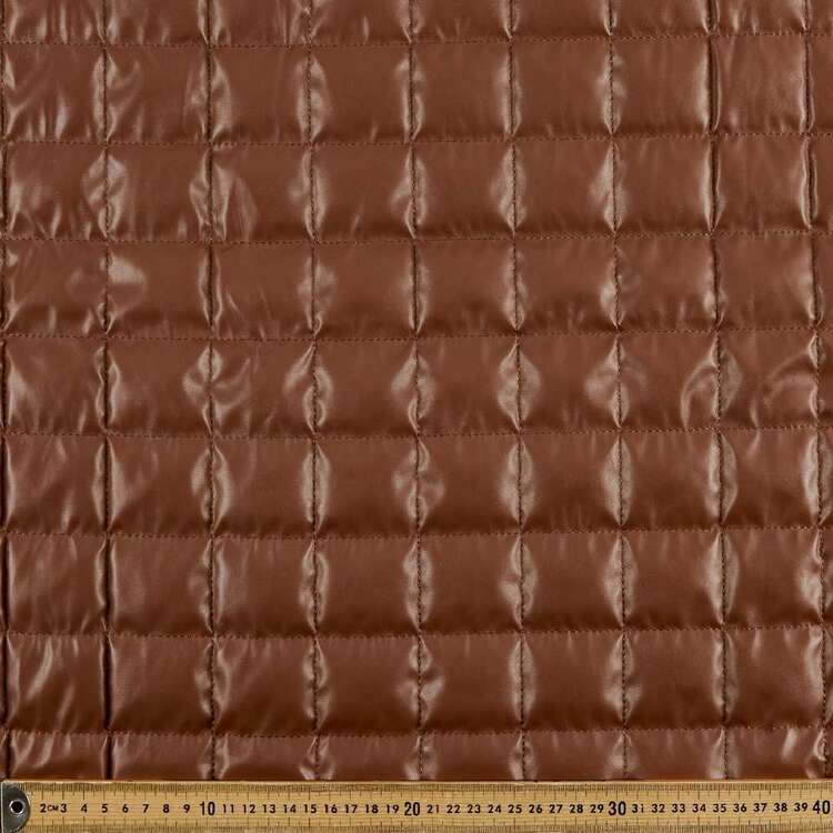 Square Quilted 135 cm Pleather Fabric