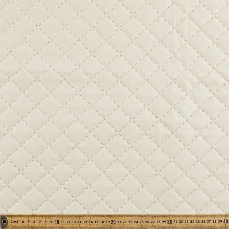 Diamond Quilted 135 cm Pleather Fabric