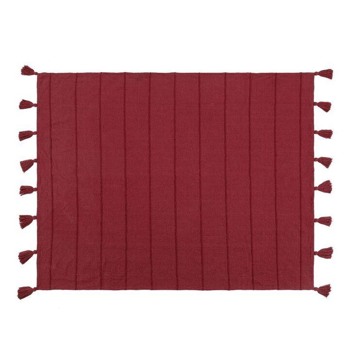Ombre Home Golden Hour Slub Knit Throw