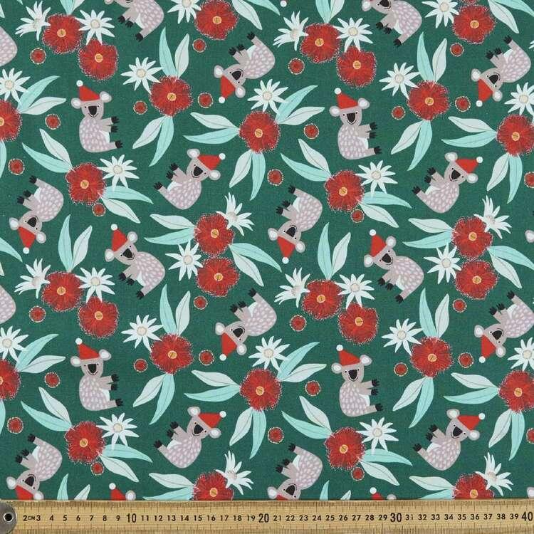 Jocelyn Proust Christmas Blossoms Koala Cotton Fabric