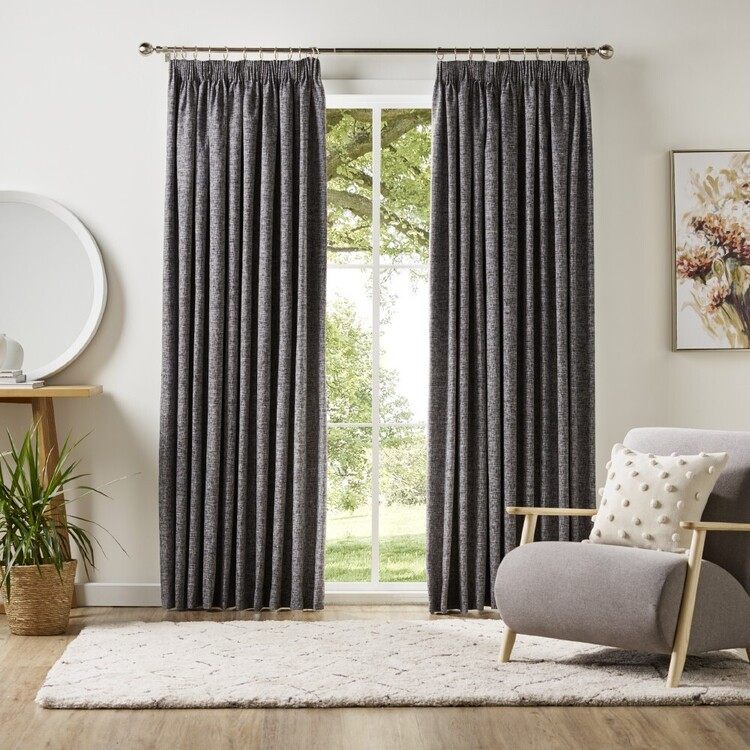 KOO Coco Blockout Pencil Pleat Curtains