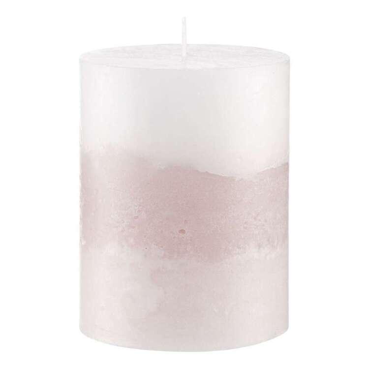Bouclair Fall Blush 9 cm Two Tone Candle