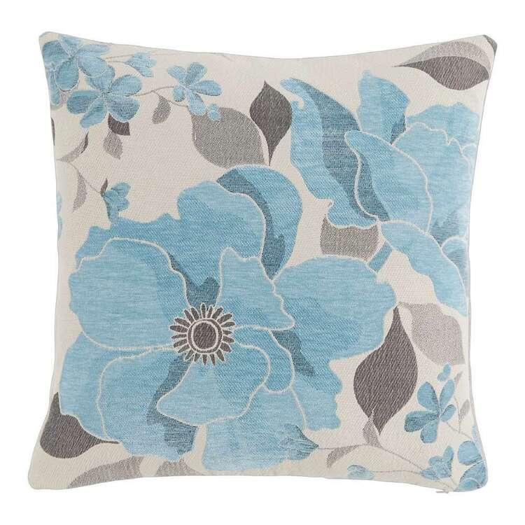 Koo Estela Floral Jacquard Cushion