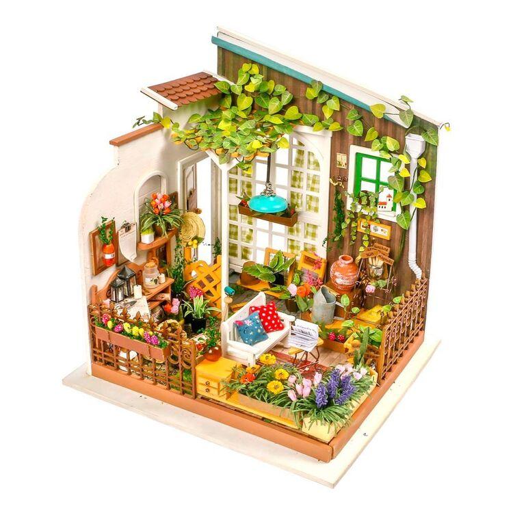 Robotime Miller's Garden Mini House Kit