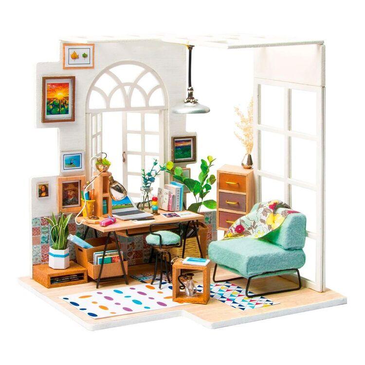 Robotime Soho Time Mini House Kit