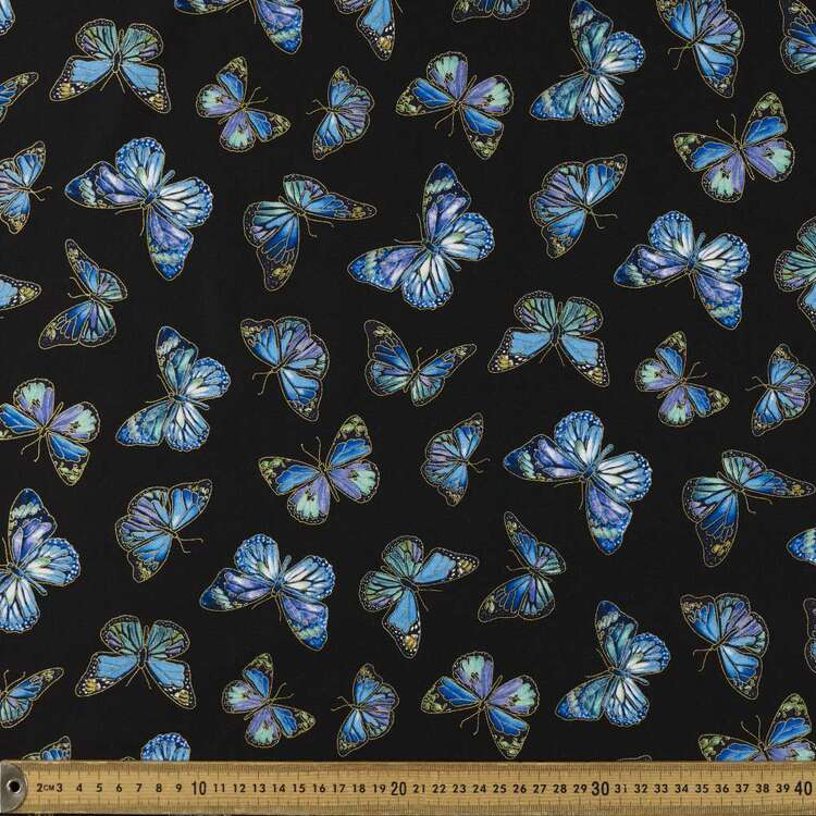 Timeless Treasures Purpetual Beauty Butterfly 112 cm Cotton Fabric