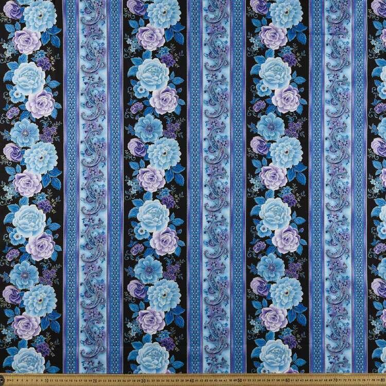 Timeless Treasures Purpetual Beauty Border 112 cm Cotton Fabric
