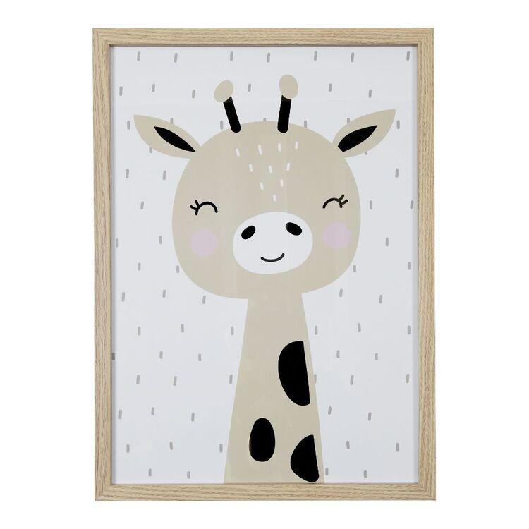 Cooper & Co Giraffe A3 Framed Print