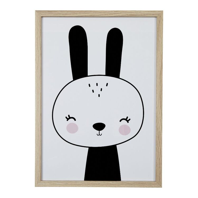 Cooper & Co Rabbit A3 Framed Print