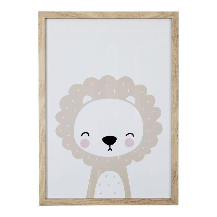 Cooper & Co Bear A3 Framed Print