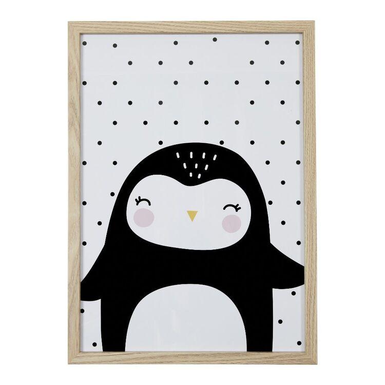 Cooper & Co Penguin A3 Framed Print