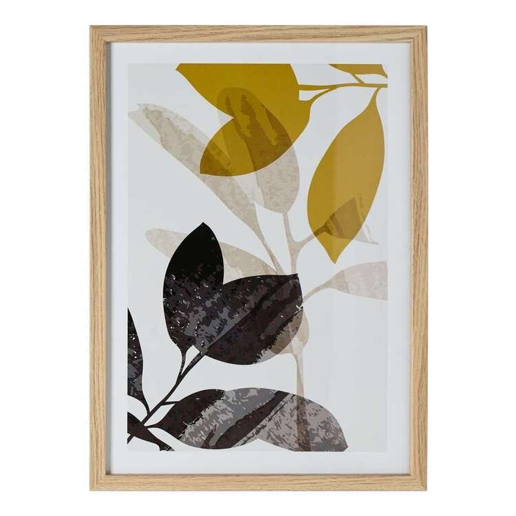 Cooper & Co Nature's Habitat Leaves #1 A3 Framed Print