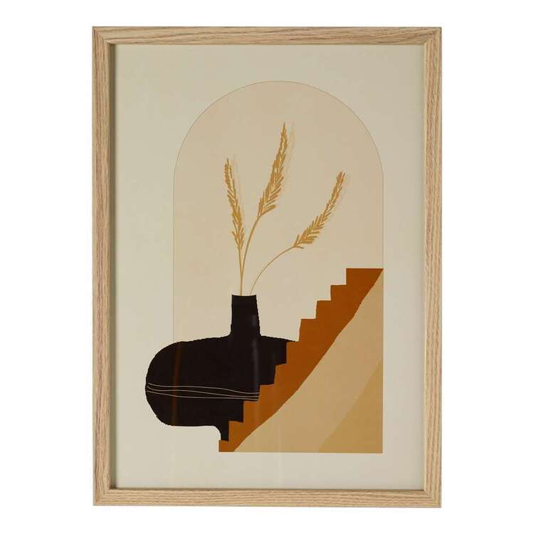 Cooper & Co Nature's Habitat Stairs A3 Framed Print