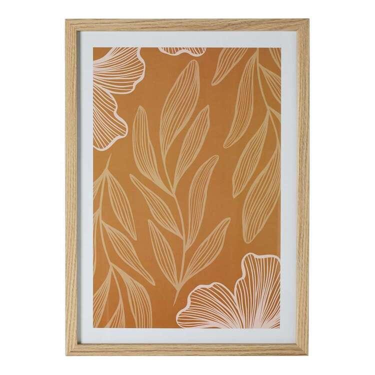 Cooper & Co Nature's Habitat Gingko #1 A3 Framed Print
