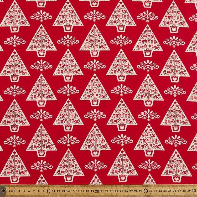 Scandi Trees Cotton Fabric