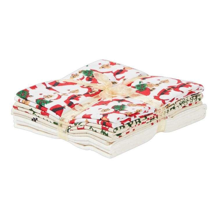 Christmas Lacquer Fat Flat Bundle 5 Pieces