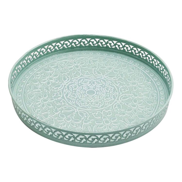 Ombre Home Country Living Etched Tray