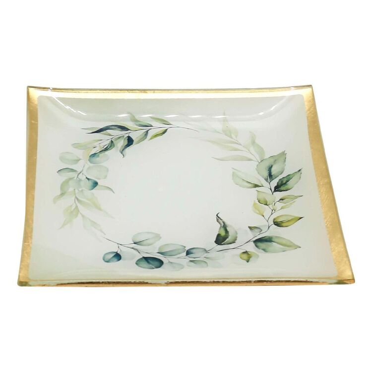 Ombre Home Country Living Leaf Trinket Dish