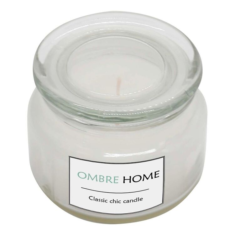 Ombre Home Country Living 11 cm Glass Jar Candle