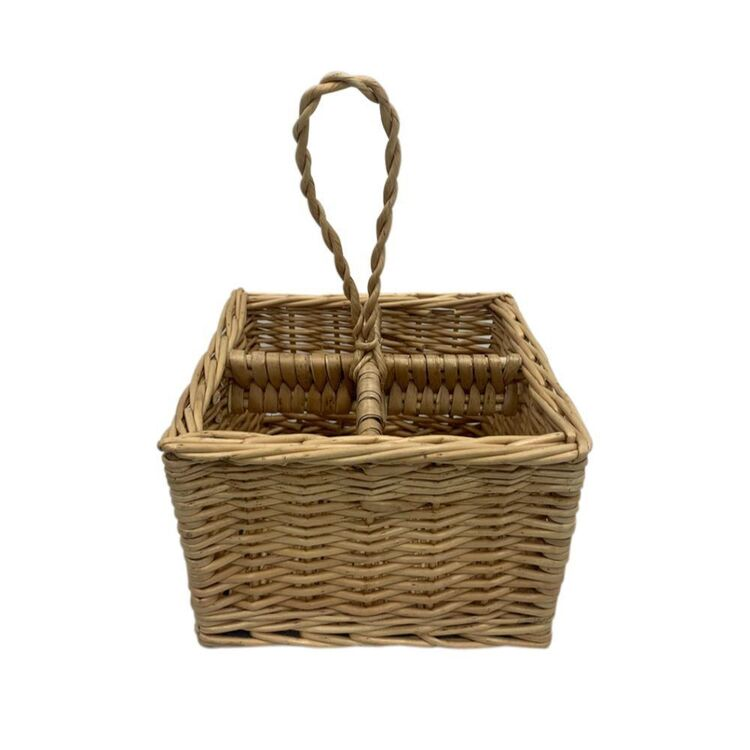Ombre Home Golden Hour Willow Storage Basket