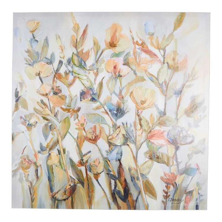 Flower Power Canvas Printed Wall Art