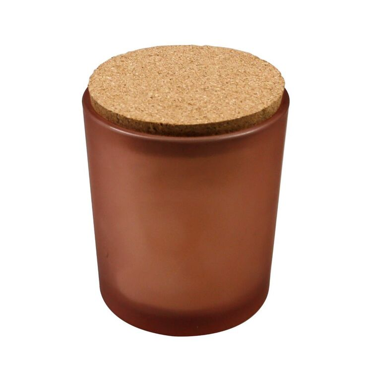 Ombre Home Golden Hour Candle Jar With Cork Lid