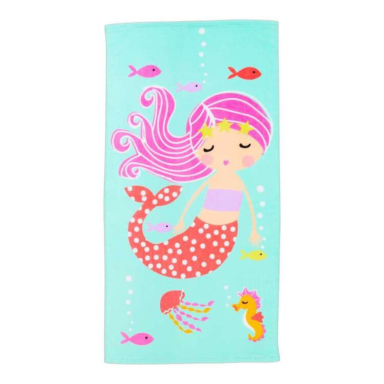 KOO Kids Mermaid Beach Towel