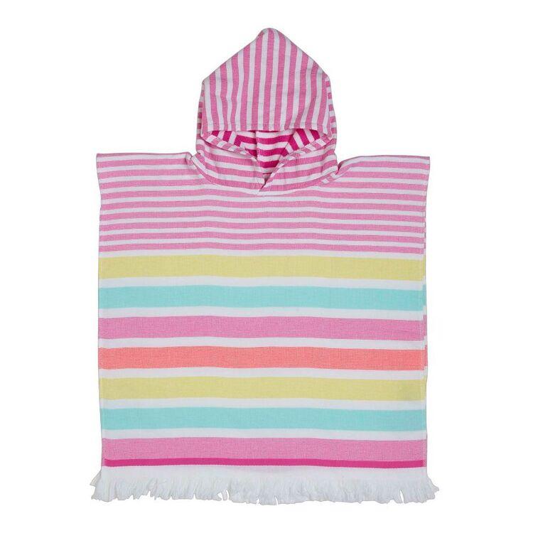 KOO Kids Stripe Hooded Beach Towel